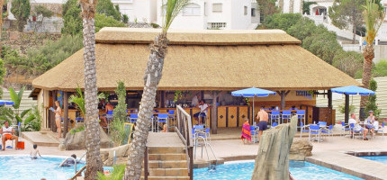 Thatched roof in Marbella