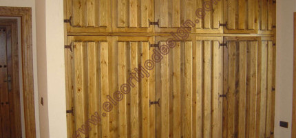 Closets of staves to size